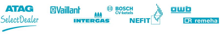 Merken Rieko verwamingsservice: Atag Vaillant Intergas Bosch Nefit AWB Remeha